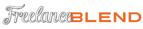 FreelanceBlend-Logo-4-Outline