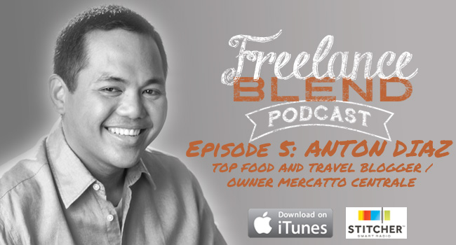 Anton Diaz for Freelance Blend Podcast