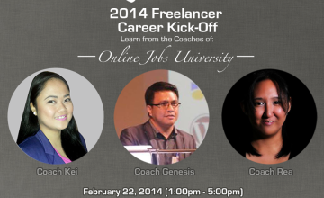 Free Learning Session:  2014 Freelancer Career Kick-off Courtesy of Elance.com