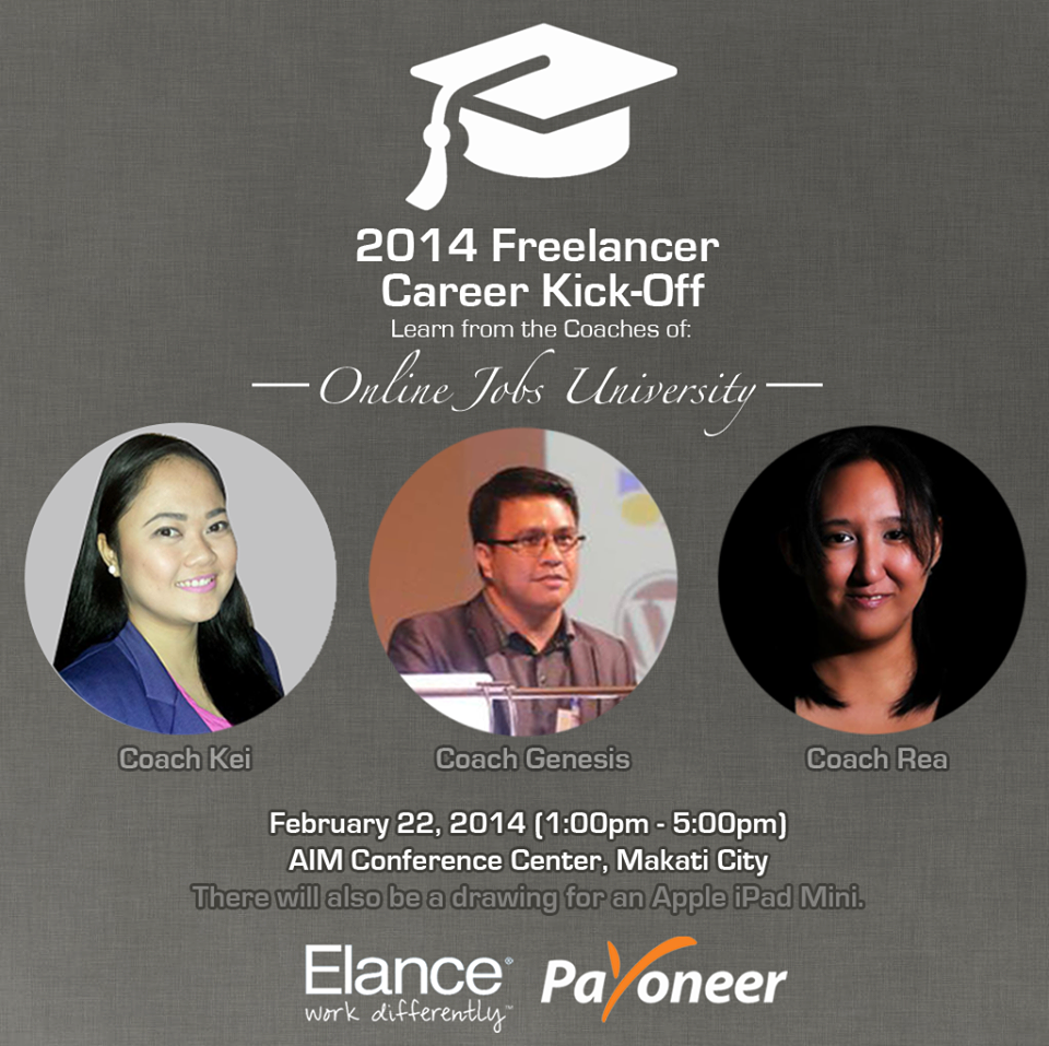 Elance Career Freelancer Kickoff 2014