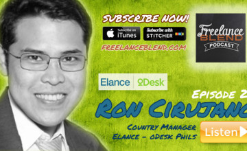FBP 021: How To Earn Big in Elance with Ron Cirujano