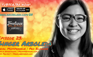 FBP 023: Building Passion Businesses and Blogs with Ginger Arboleda of Manila Workshops