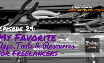FBP 029: My Favorite Apps, Tools and Resources for Freelancers