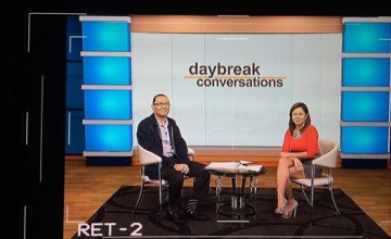 There's Always A First Time: My First Ever TV Appearance at Solar TV's Daybreak