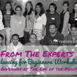 FBP 034: Hear From the Experts at The Freelancing for Beginners Workshop (Plus a FREE Giveaway at the End of the Podcast)