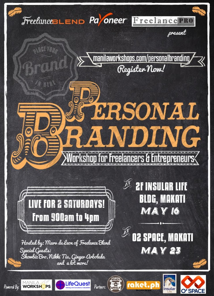 New And Improved Personal Branding Workshop For Freelancers And