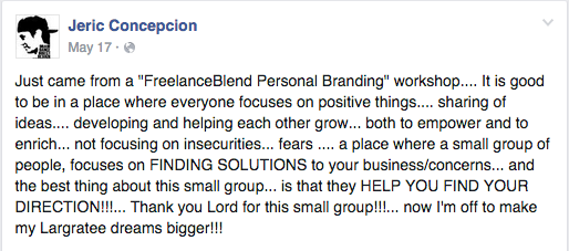 jeric-facebook-review-personal-branding