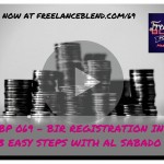 FBP 069: BIR Registration for Freelancers in 3 Simple Steps with Al Sabado