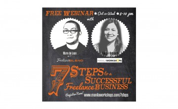[FREE Webinar] The 7 Steps to a Successful Freelance Business!