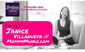 FBP 073: How To Juggle Motherhood and Business with Janice Villanueva of Mommy Mundo