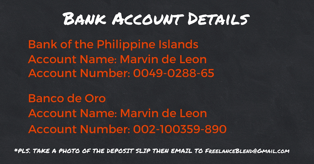 Bank Account Details - 2
