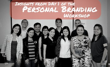 Insights from Day 1 of Personal Branding Workshop