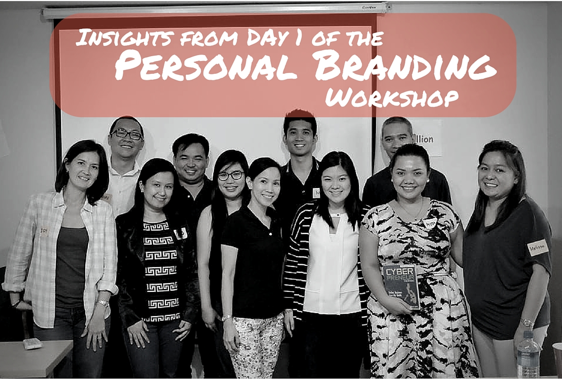 Insights-from-Day 1-of the Personal Branding Workshop