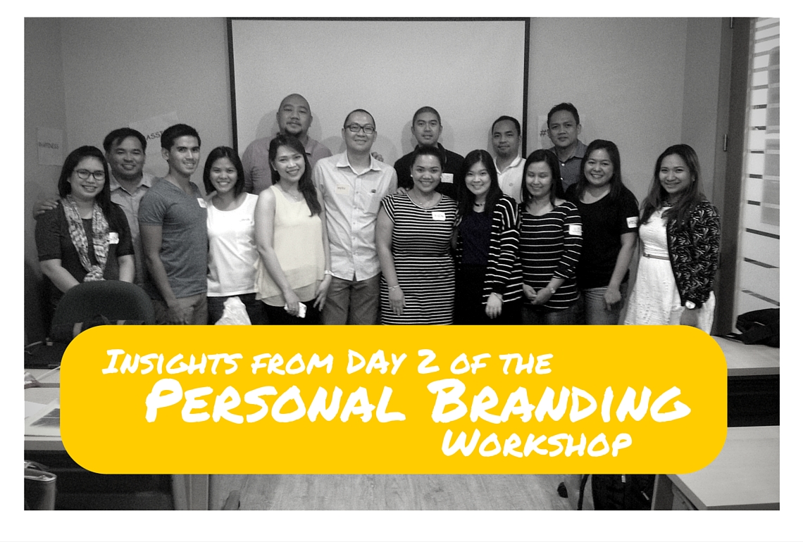 Insights-from-Day 2-of the Personal Branding Workshop