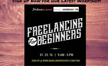 Sign up Now: Freelancing for Beginners Workshop on January 23