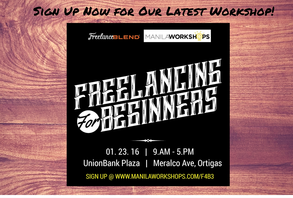 Freelancing for Beginngers Poster-Wood-With-Venue-2