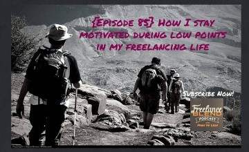 FBP 085: [AskMarv] How I stay motivated during low points in my freelancing life