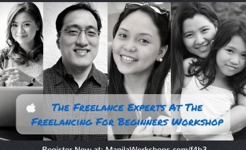 Meet The Freelance Experts at the Freelancing for Beginners Workshop on January 23