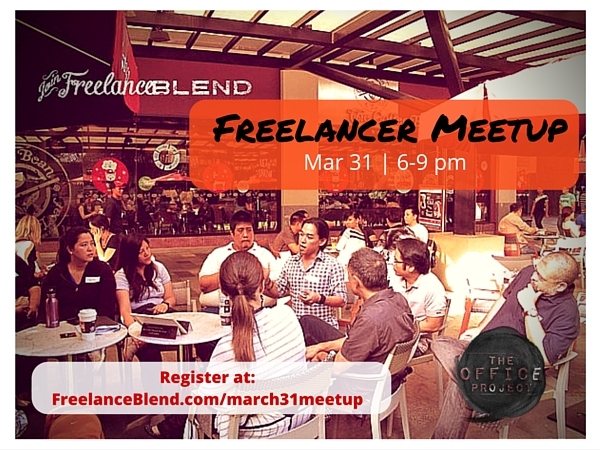 Freelancer Meetup Poster - Mar 31