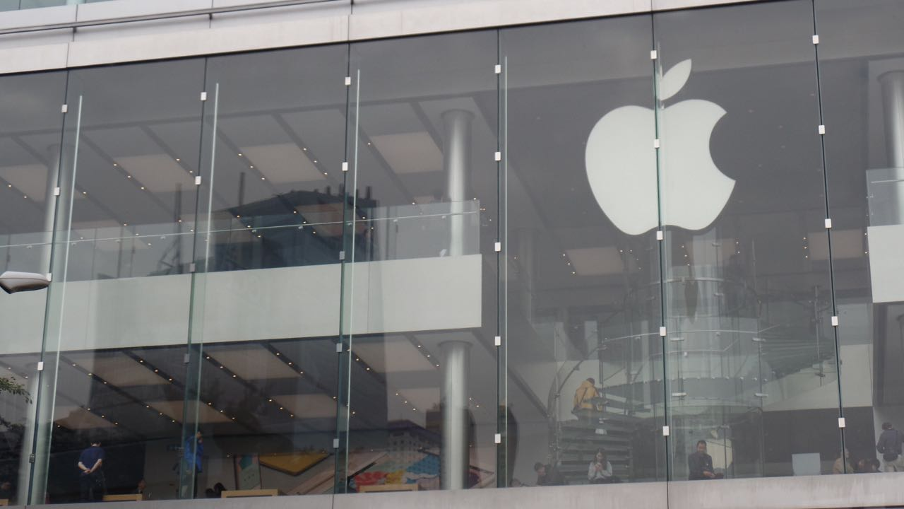 The Apple Store in Kowloon, Hong Kong