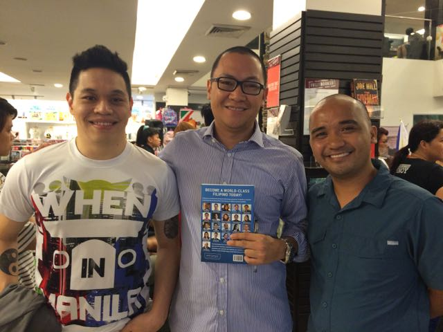 Vince Golangco, Marv de Leon and Rey Bufi of The Story Telling Project