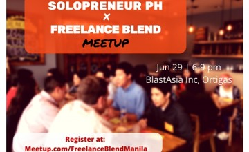 [New Meetup] Solopreneur PH x Freelance Blend – Show and Tell Meetup