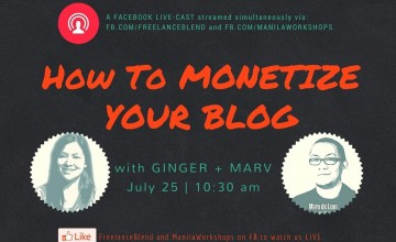 {Facebook Live} How to Monetize Your Blog with Ginger + Marv