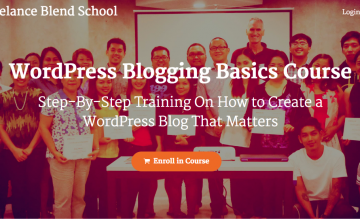 [New Course] The WordPress Blogging Basics Course is now open
