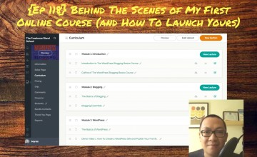 FBP 118: Behind The Scenes of My First Online Course (and How To Launch Yours)