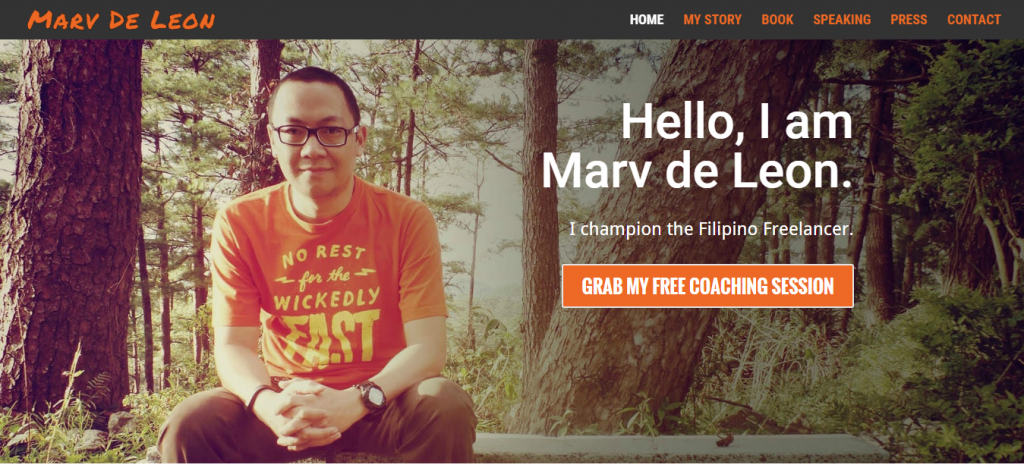 Marv de Leon – Champion of The Filipino Freelancer