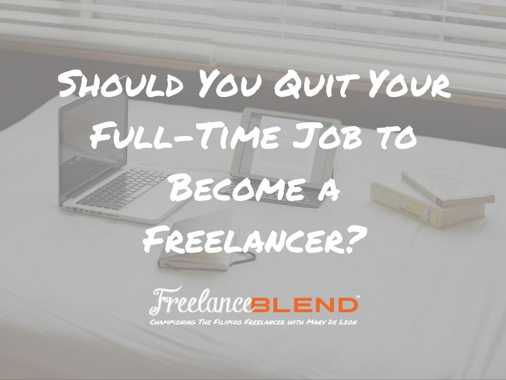 how to become full time from part time