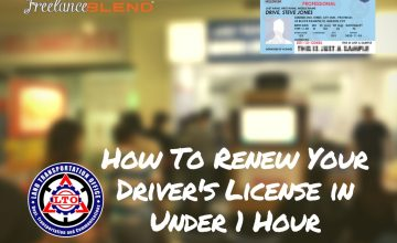 How to Renew Your Driver's License in Under One Hour (A Step-By-Step Guide)