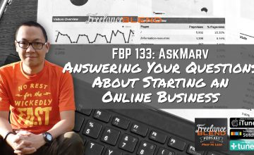 FBP 133: AskMarv: Answering Your Questions About Starting an Online Business