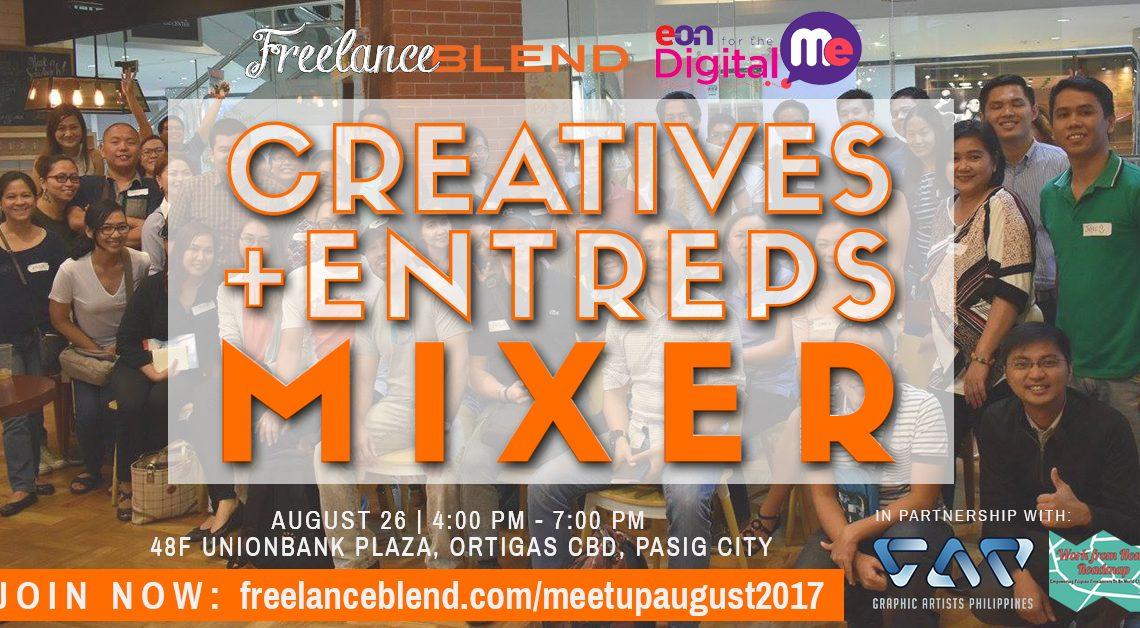 [New Meetup]: Creatives + Entreps Mixer on August 26