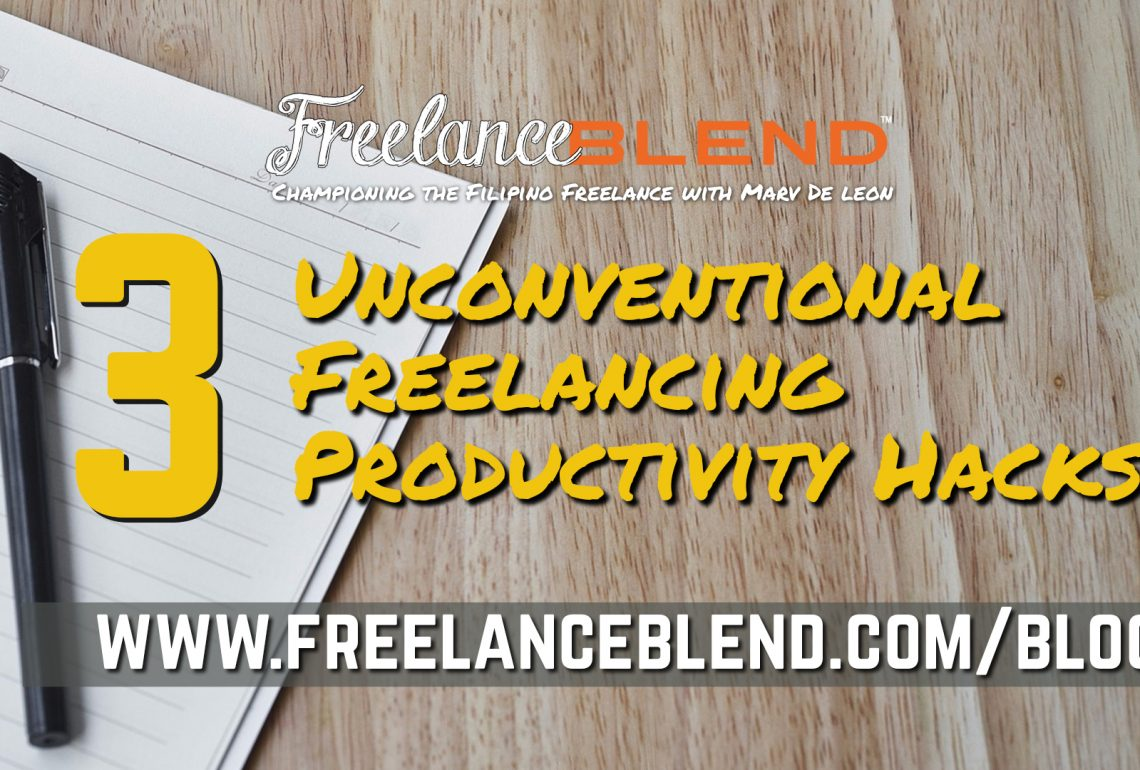 3 Unconventional Freelancing Productivity Hacks That Nobody Talks About