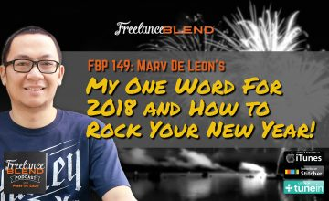 FBP 149: My One Word For 2018 and How to Rock Your New Year