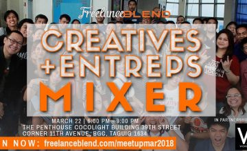 [New Meetup]: Creatives + Entreps Mixer on March 22