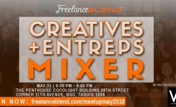 [New Meetup]: Creatives + Entreps Mixer on May 31