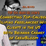FBP 154: Connecting Top-Caliber Filipino Freelancers With Clients in the US – Brianna Carney of CrewBloom