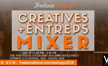 [New Meetup]: Creatives + Entreps Mixer on July 19