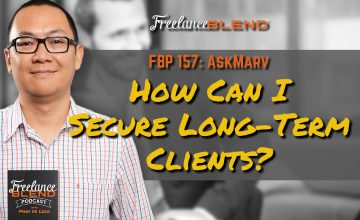FBP 157: AskMarv – How Can I Secure Long-Term Clients