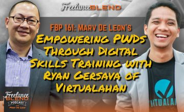 FBP 161: Empowering PWDs Through Digital Skills Training with Ryan Gersava of Virtualahan