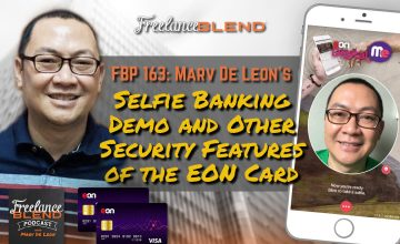 FBP 163: Selfie Banking Demo and Other Security Features of EON card