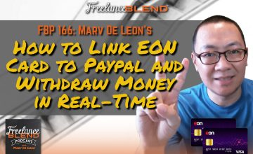 How to Link Your EON Card to Paypal and Withdraw Money in Real-Time (FBP 166)