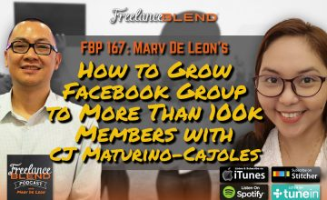 How to Grow a Facebook Group to More Than 100K Members with CJ Maturino-Cajoles (FBP 167)