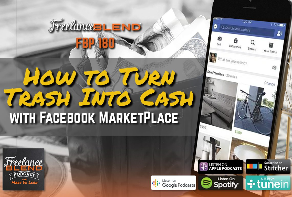 How to Turn Trash Into Cash with Facebook Marketplace (FBP 180)