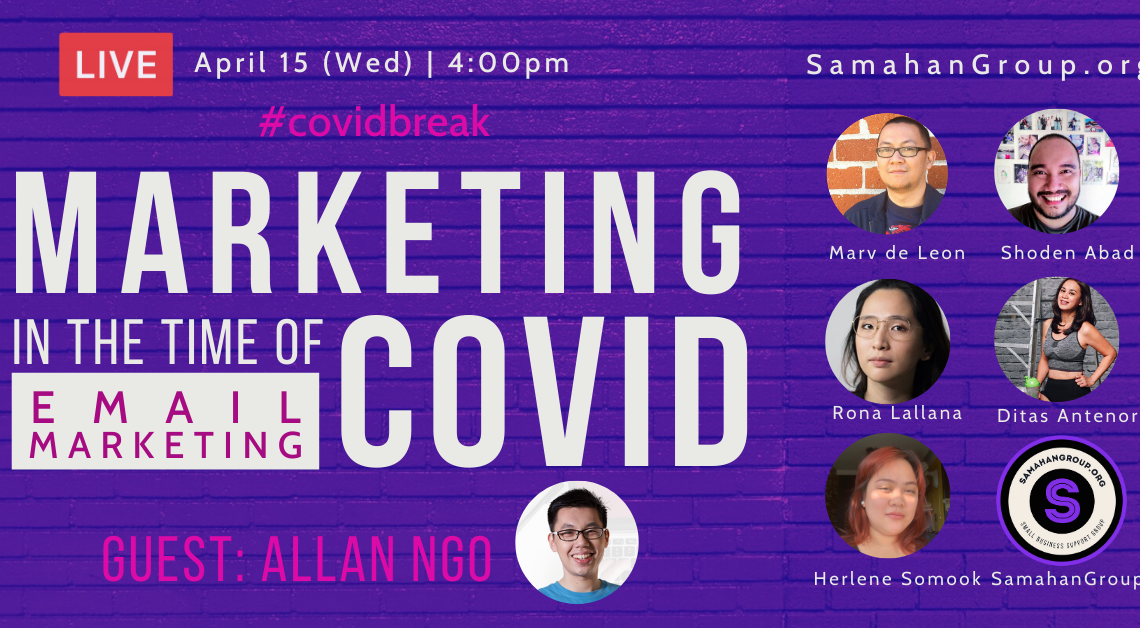 Marketing in the Time of COVID – Email Marketing Edition (FBP 186)